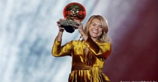 প্রথম নারী ব্যালন ডি'অর পুরস্কার জয়ী হেগেরবার্গ