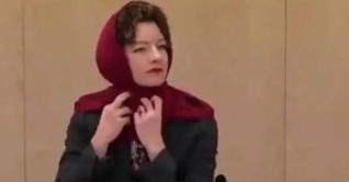 হিজাব পরে অস্ট্রিয়ার অমুসলিম নারী সাংসদের অভিনব প্রতিবাদ