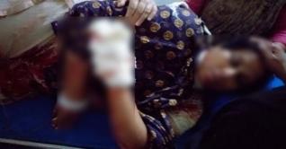 সৈয়দপুরে সাবেক প্যানেল মেয়রের স্ত্রীকে গলা কেটে হত্যার চেষ্টা